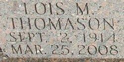 Lois Mae <I>Thomason</I> Briley Dillon