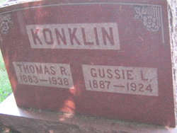 Gussie <I>Lane</I> Konklin