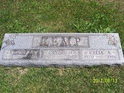 """Celia A. """"Sis"""" <I>Wable</I> Kemp"""