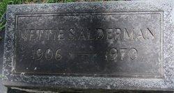 Nettie S Alderman