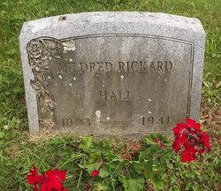 Mildred <I>Rickard</I> Hall