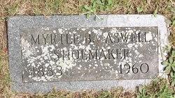 Myrtle B <I>Caswell</I> Shoemaker
