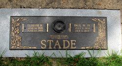 Paul W Stade, Jr