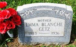 Emma Blanche <I>Lehr</I> Getz