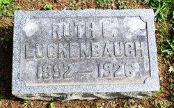 Ruth E. <I>Frey</I> Luckenbaugh