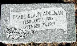 Pearl <I>Beach</I> Adelman