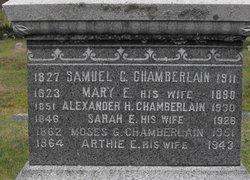 Mary E <I>Fall</I> Chamberlain