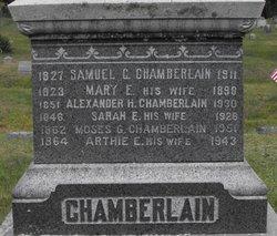 Moses G Chamberlain