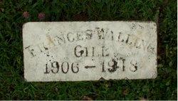Frances Ellen <I>Walling</I> Gill
