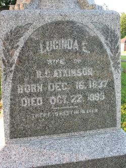 Lucinda Elizabeth <I>Garrison</I> Atkinson