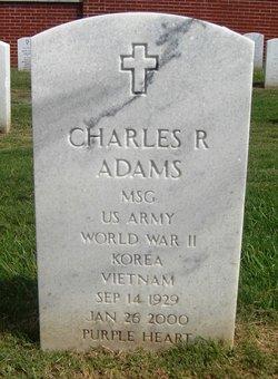 MSGT Charles Robert Adams
