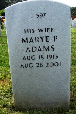 Marye <I>Phillips</I> Adams