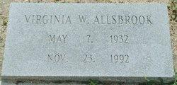 Virginia Dare <I>Waters</I> Allsbrook