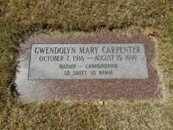 Gwendolyn Mary Carpenter