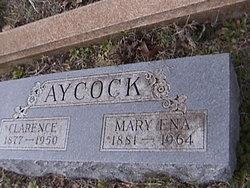 Mary Ena <I>Ricks</I> Aycock