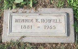 Minnie E Howell
