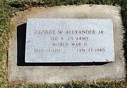 George William Alexander, Jr