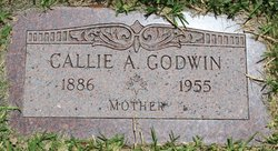 Callie A. <I>Rice</I> Godwin