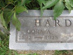 Cora A <I>McKeown</I> Hardman