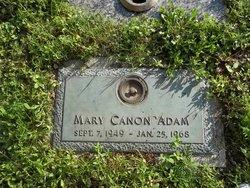 "Mary Canon ""Nan"" Adam"