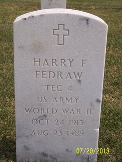 Harry F Fedraw