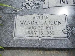 Wanda <I>Carson</I> Miner