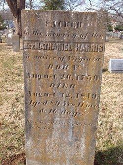 Rev Nathaniel Harris