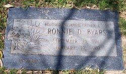 Ronnie D Byars