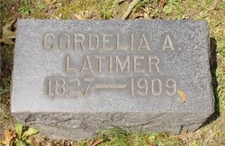Cordelia A <I>Gitchell</I> Latimer