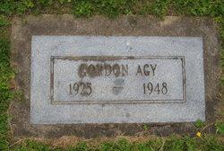 Gordon W Agy