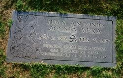 Juan Antonio <I>Acosta</I> Vera