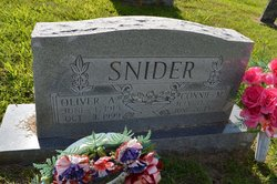 Oliver Amos Snider, Sr