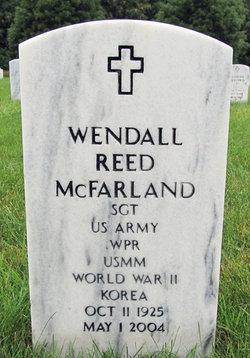 Wendall Reed McFarland