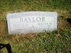 Bertha M <I>Morrison</I> Baylor