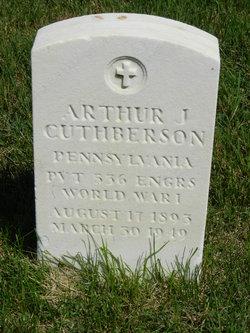 Arthur J Cuthberson