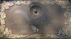 Grace Leola <I>Myford</I> Ackerman