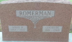 Gertrude <I>Herman</I> Romerman