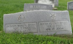Bertha <I>Huffman</I> Bryant