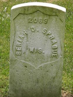 Rev Beriah D. Sprague