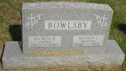 Arthur C Bowlsby