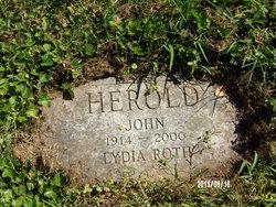 Lydia <I>Roth</I> Herold