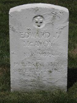 Edward J McAvoy
