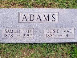 "Samuel Edgar ""Ed"" Adams"
