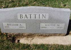 Hattie Mary <I>White</I> Battin