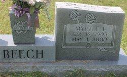 Myrtle Irene <I>James</I> Beech