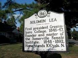 Rev Solomon Lea