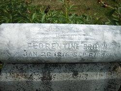 Florentine <I>Willard</I> Brown