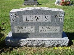 Minnie Belle <I>Hoover</I> Lewis