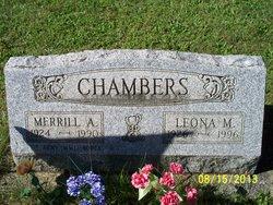 "Merrill A. ""Frosty"" Chambers, Sr"