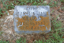 Martha Jane <I>Madden</I> Millican